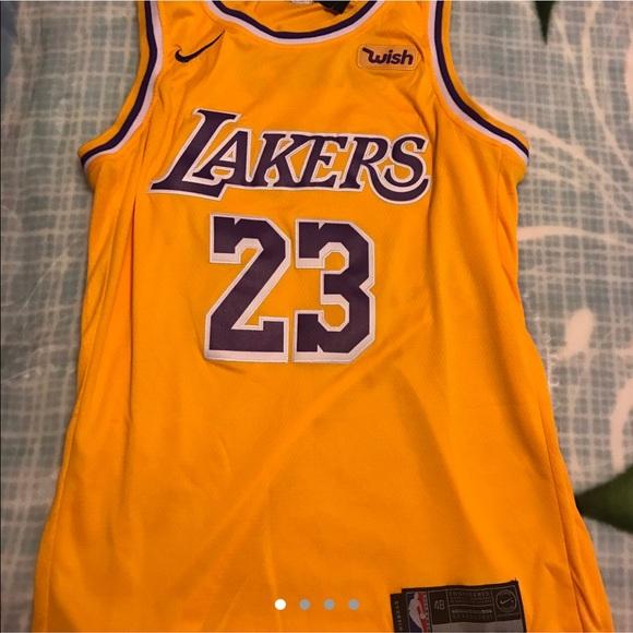 2eae0526b44 adidas Shirts | Nike Nba La Lakers Lebron James Basketball Jersey ...